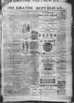 Rio Grande Republican, 11-22-1890 by Charles Metcalfe