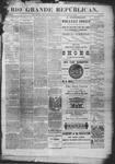 Rio Grande Republican, 11-29-1890 by Charles Metcalfe