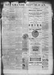 Rio Grande Republican, 12-06-1890 by Charles Metcalfe