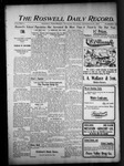 Roswell Daily Record, 09-10-1903 by H. E. M. Bear