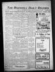 Roswell Daily Record, 09-12-1903 by H. E. M. Bear
