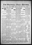 Roswell Daily Record, 10-29-1903 by H. E. M. Bear