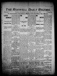 Roswell Daily Record, 03-22-1904 by H. E. M. Bear