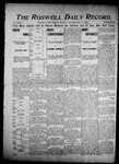 Roswell Daily Record, 05-17-1904 by H. E. M. Bear