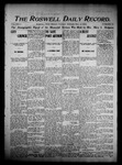 Roswell Daily Record, 05-31-1904 by H. E. M. Bear