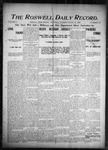 Roswell Daily Record, 08-13-1904 by H. E. M. Bear