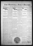 Roswell Daily Record, 12-17-1904 by H. E. M. Bear
