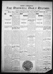 Roswell Daily Record, 12-24-1904 by H. E. M. Bear