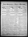 Roswell Daily Record, 01-28-1905 by H. E. M. Bear