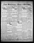 Roswell Daily Record, 02-15-1905 by H. E. M. Bear