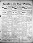 Roswell Daily Record, 04-17-1905 by H. E. M. Bear