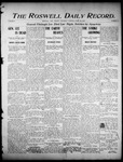 Roswell Daily Record, 04-29-1905 by H. E. M. Bear