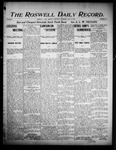 Roswell Daily Record, 07-08-1905 by H. E. M. Bear