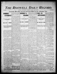 Roswell Daily Record, 07-20-1905 by H. E. M. Bear