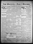 Roswell Daily Record, 08-03-1905 by H. E. M. Bear