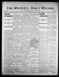 Roswell Daily Record, 08-08-1905 by H. E. M. Bear