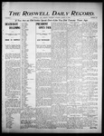 Roswell Daily Record, 08-10-1905 by H. E. M. Bear