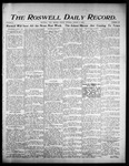 Roswell Daily Record, 08-11-1905 by H. E. M. Bear