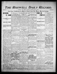Roswell Daily Record, 08-12-1905 by H. E. M. Bear