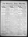 Roswell Daily Record, 08-23-1905 by H. E. M. Bear