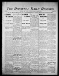 Roswell Daily Record, 09-02-1905 by H. E. M. Bear