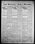 Roswell Daily Record, 09-09-1905 by H. E. M. Bear