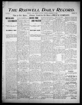 Roswell Daily Record, 09-16-1905 by H. E. M. Bear
