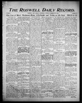 Roswell Daily Record, 09-20-1905 by H. E. M. Bear