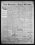 Roswell Daily Record, 09-22-1905 by H. E. M. Bear