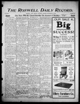 Roswell Daily Record, 09-30-1905 by H. E. M. Bear