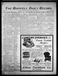 Roswell Daily Record, 10-03-1905 by H. E. M. Bear