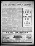 Roswell Daily Record, 10-05-1905 by H. E. M. Bear