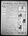 Roswell Daily Record, 10-10-1905 by H. E. M. Bear