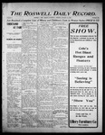 Roswell Daily Record, 10-12-1905 by H. E. M. Bear