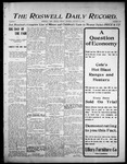 Roswell Daily Record, 10-13-1905 by H. E. M. Bear