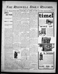 Roswell Daily Record, 10-17-1905 by H. E. M. Bear