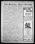 Roswell Daily Record, 10-20-1905 by H. E. M. Bear