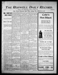 Roswell Daily Record, 10-23-1905 by H. E. M. Bear
