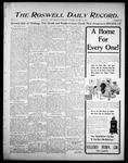 Roswell Daily Record, 10-25-1905 by H. E. M. Bear