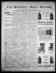 Roswell Daily Record, 10-31-1905 by H. E. M. Bear