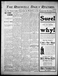 Roswell Daily Record, 11-01-1905 by H. E. M. Bear