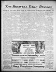 Roswell Daily Record, 11-10-1905 by H. E. M. Bear