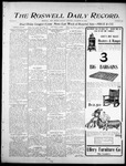Roswell Daily Record, 11-13-1905 by H. E. M. Bear