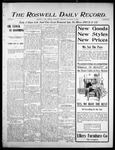 Roswell Daily Record, 11-16-1905 by H. E. M. Bear