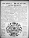 Roswell Daily Record, 11-21-1905 by H. E. M. Bear