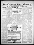 Roswell Daily Record, 11-25-1905 by H. E. M. Bear
