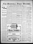 Roswell Daily Record, 11-29-1905 by H. E. M. Bear