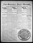 Roswell Daily Record, 12-04-1905 by H. E. M. Bear