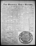 Roswell Daily Record, 12-07-1905 by H. E. M. Bear