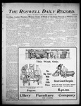 Roswell Daily Record, 12-12-1905 by H. E. M. Bear